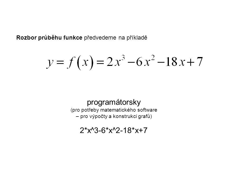 Vyberme z nabídky pro rovnice:
