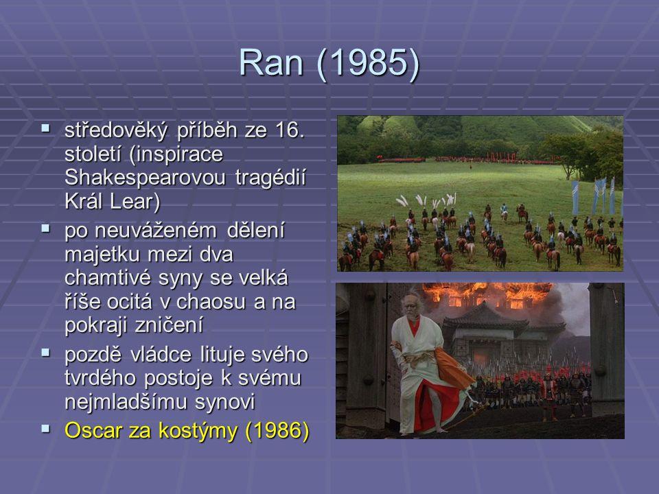 Ran (1985)  středověký příběh ze 16.