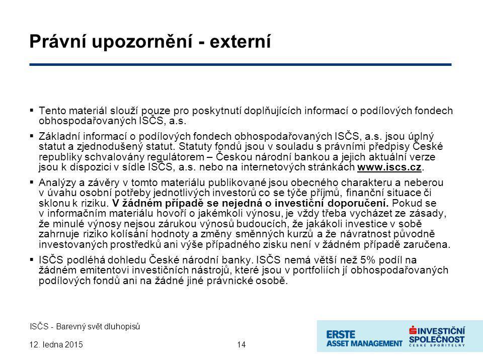 14 ISČS - Barevný svět dluhopisů 12.