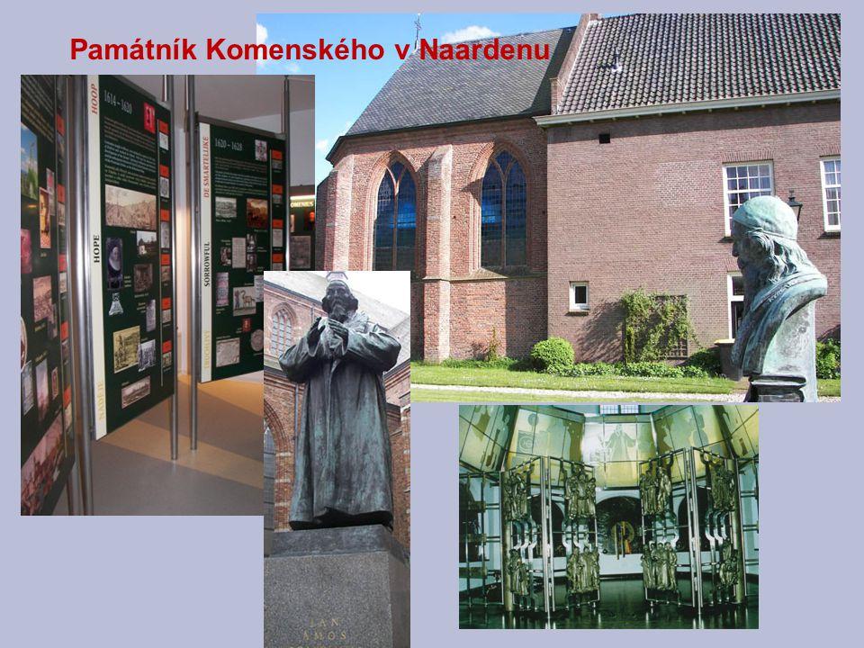 Památník Komenského v Naardenu