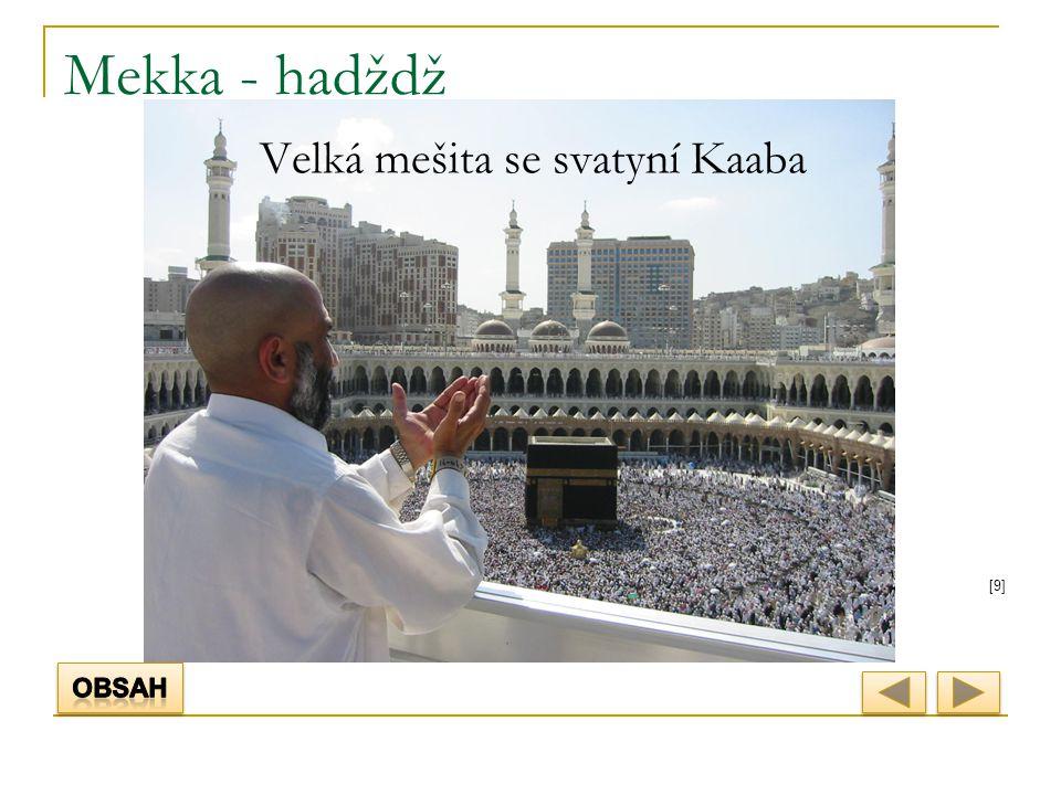 [9][9] Mekka - hadždž Velká mešita se svatyní Kaaba