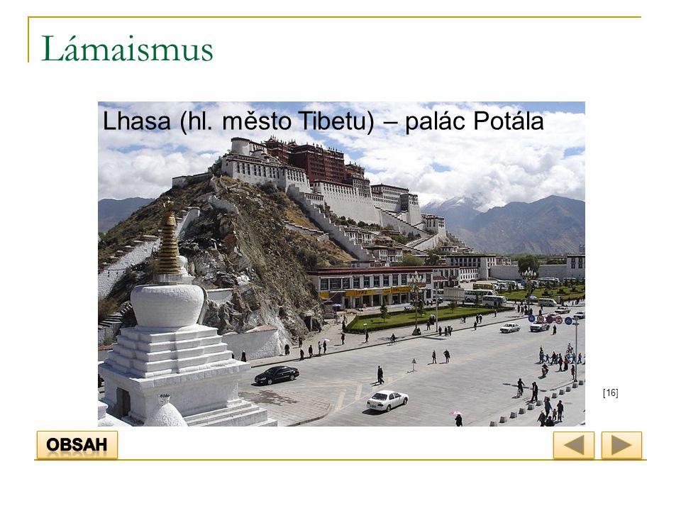 Lámaismus [16] Lhasa (hl. město Tibetu) – palác Potála