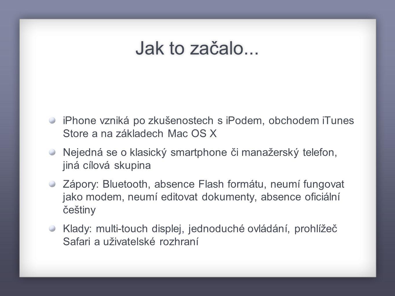 iPhone v číslech Rok 2008 - překročení prodeje 10 mil.