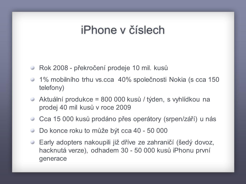 Co přesně iPhone je.