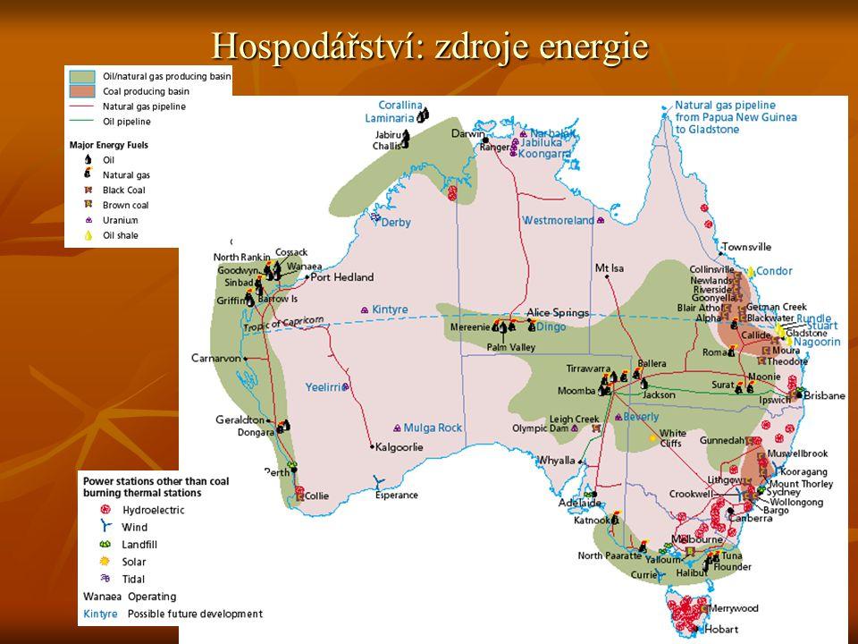 6 Hospodářství: zdroje energie