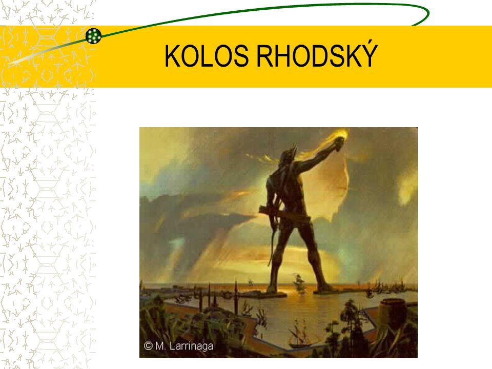 KOLOS RHODSKÝ