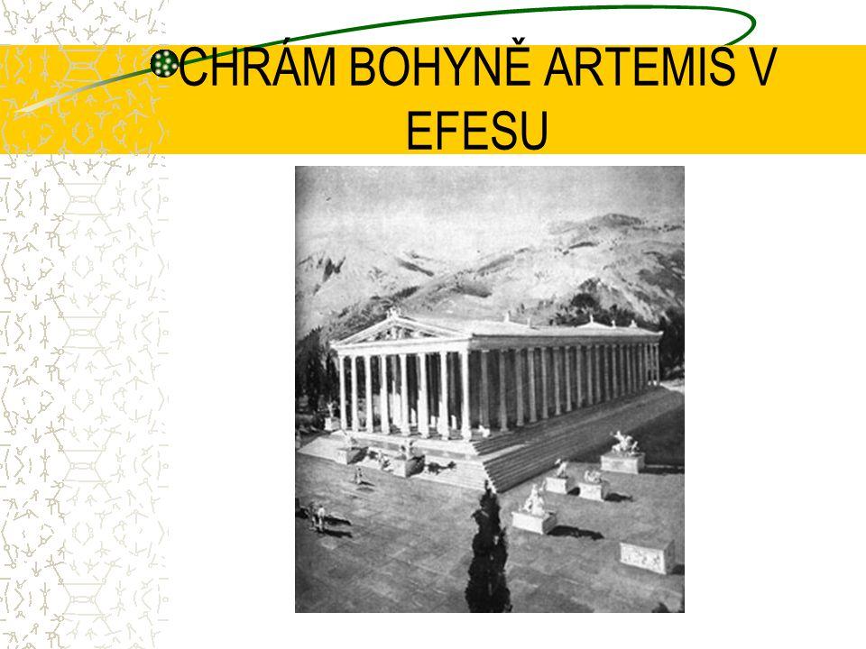 CHRÁM BOHYNĚ ARTEMIS V EFESU