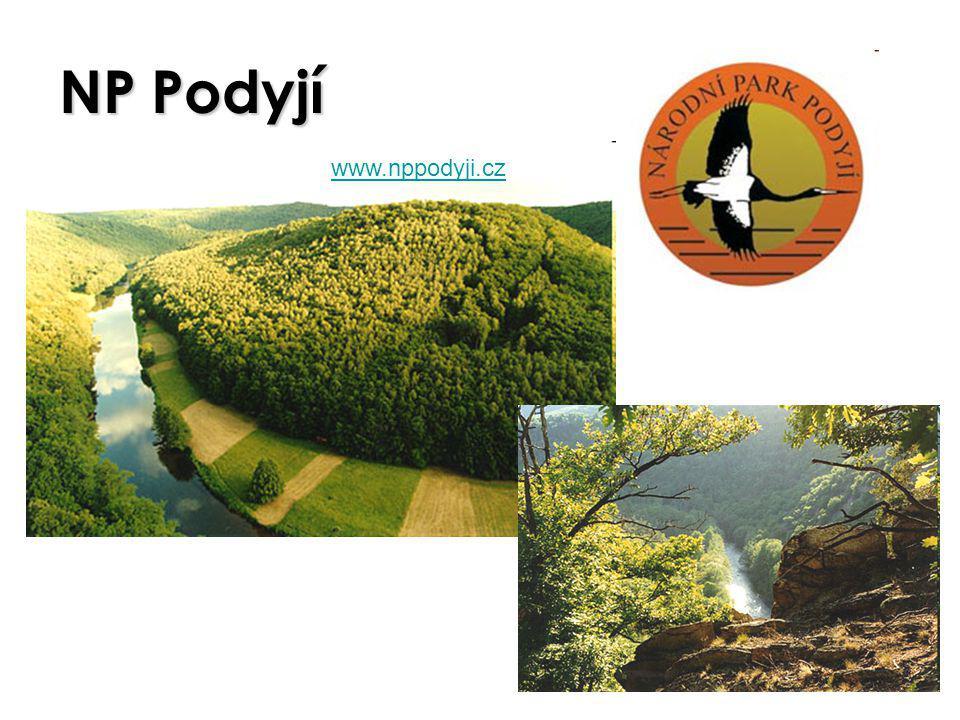 NP Podyjí www.nppodyji.cz