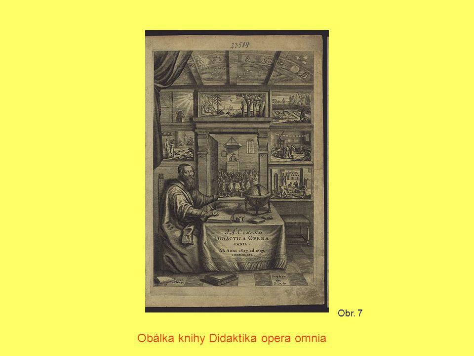 Obr. 7 Obálka knihy Didaktika opera omnia