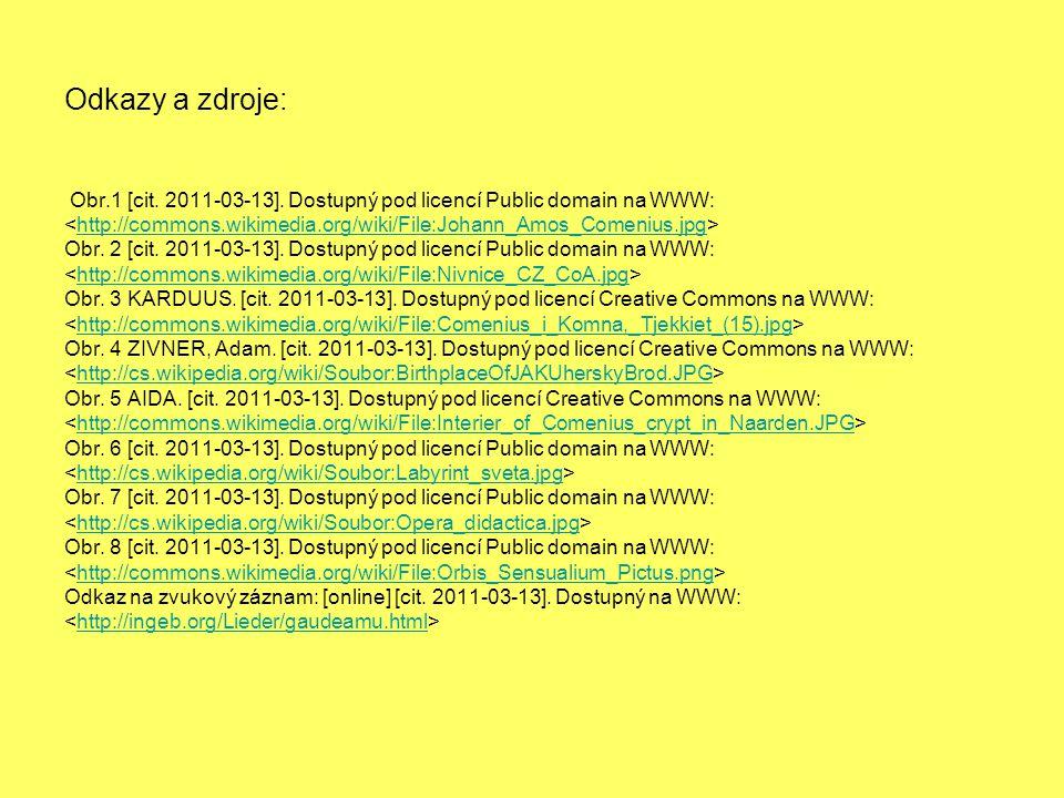 Odkazy a zdroje: Obr.1 [cit.2011-03-13].