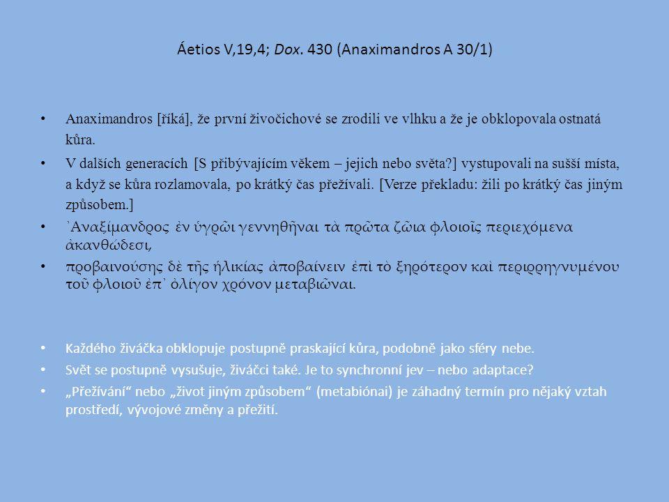 Áetios V,19,4; Dox.