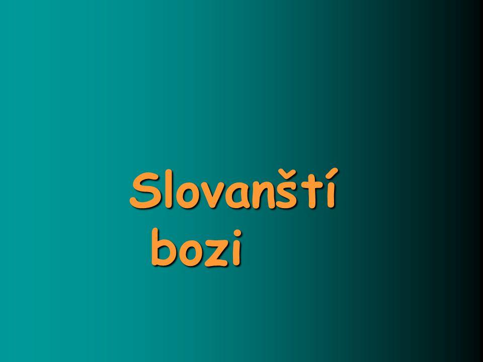 Slovanští bozi