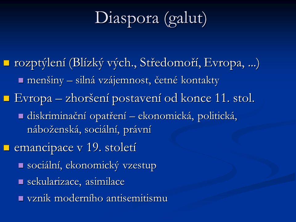 Diaspora 1. stol. n. l.