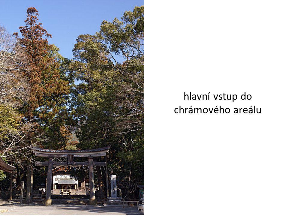 hlavní vstup do chrámového areálu