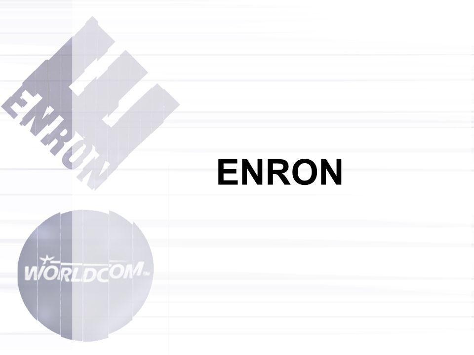 Co je to ENRON Založen 1985 Houston Fůze Natural Gas a InterNorth Zakladatel a CEO Kenneth Lay 21.000 zaměstnanců