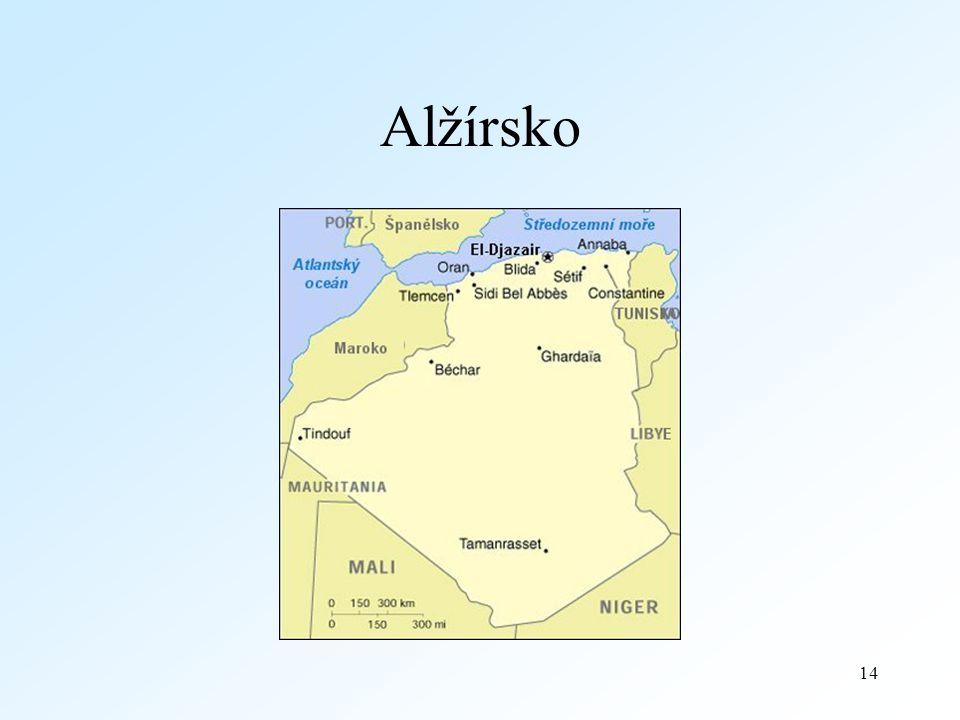 14 Alžírsko