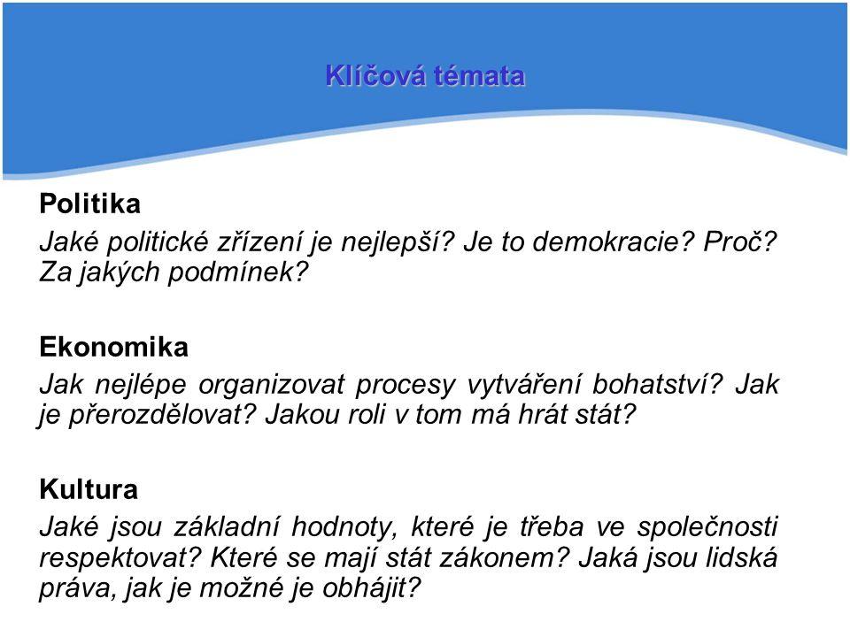Politika Jaké politické zřízení je nejlepší.Je to demokracie.