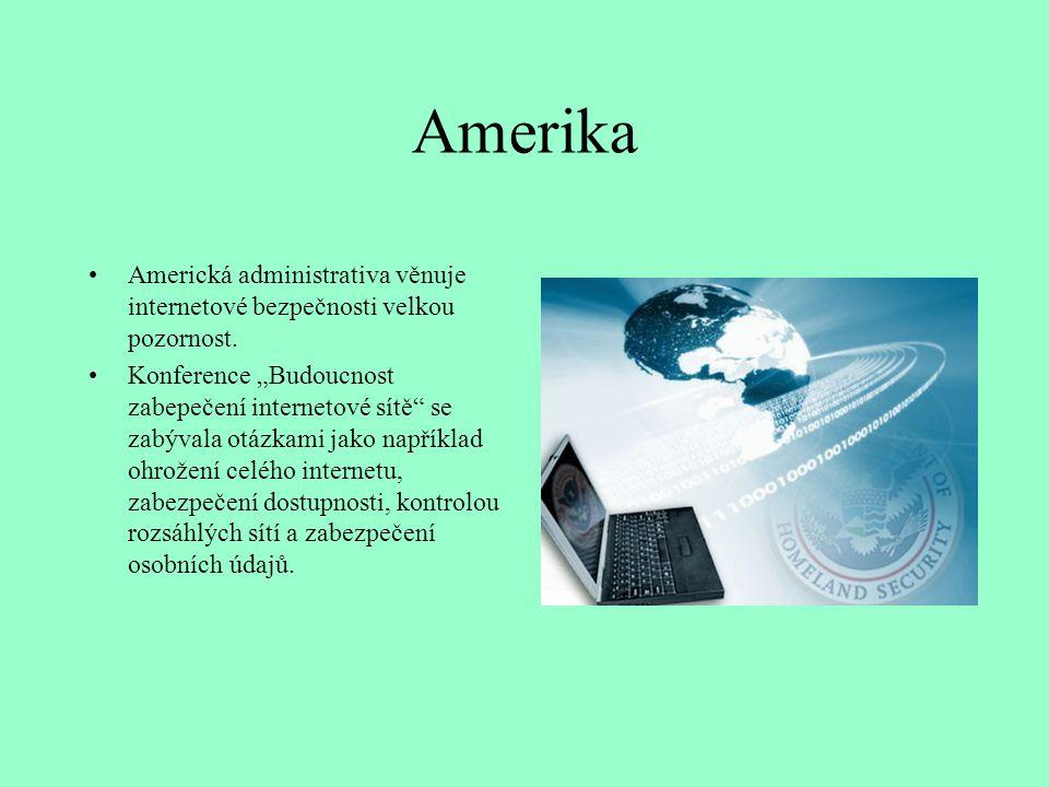 """Amerika Americká administrativa věnuje internetové bezpečnosti velkou pozornost. Konference """"Budoucnost zabepečení internetové sítě"""" se zabývala otázk"""