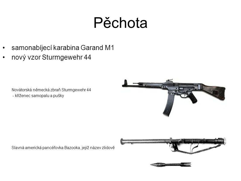 Pěchota samonabíjecí karabina Garand M1 nový vzor Sturmgewehr 44 Novátorská německá zbraň Sturmgewehr 44 - kříženec samopalu a pušky Slavná americká p