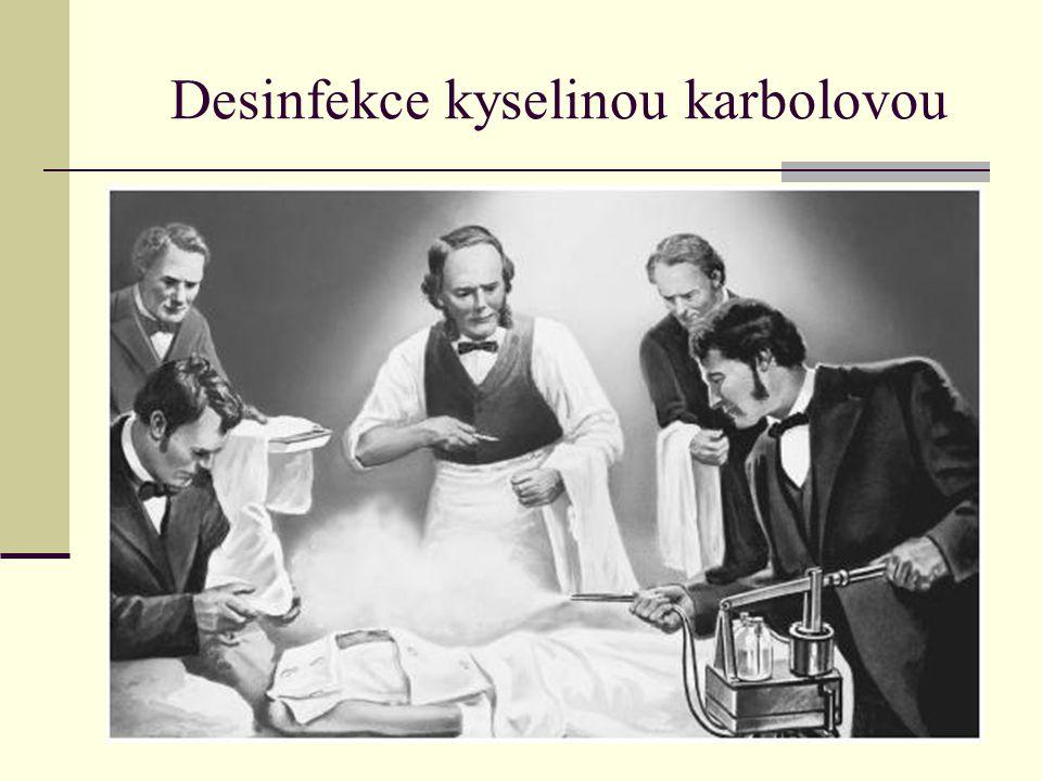 Desinfekce kyselinou karbolovou