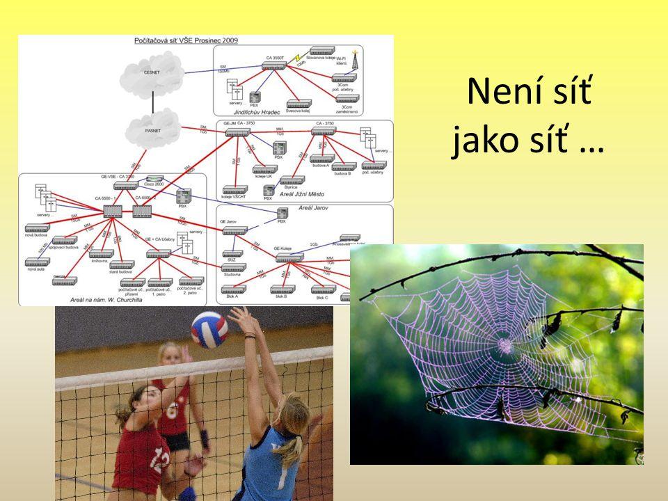 Není síť jako síť …