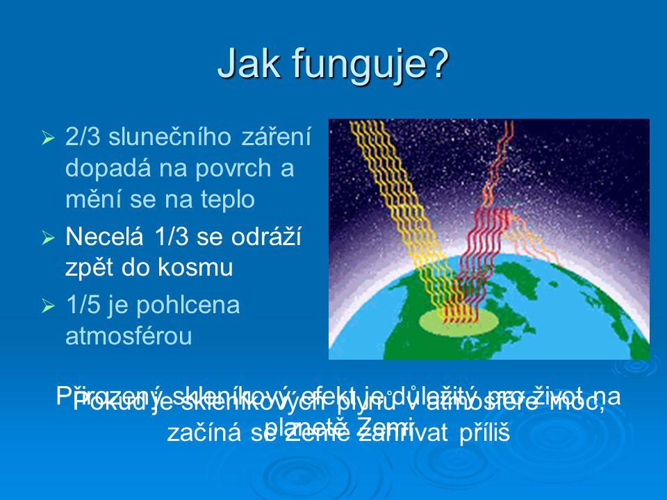 Ztenčování ozónové vrstvy  Úbytek ozónu je spojován hlavně s fluorochlorouhlovodíky (FCC) a většinou halogenderivátů  Tyto většinou stabilní molekuly se ve stratosféře rozkládají a tvoří volné radikály, které ničí ozón  Jeden chlorový radikál dokáže zničit až 100 000 molekul ozónu