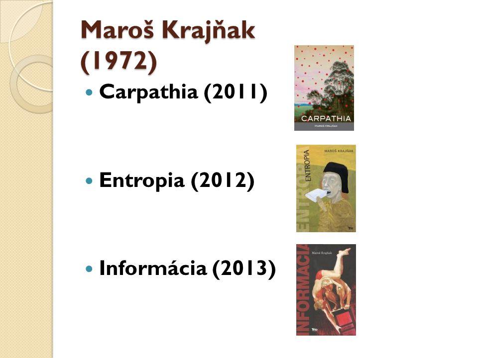 Milan Zelinka (1942) Príbehy z Karpát (2005) Teta Anula (2007) Pristaš (2012)