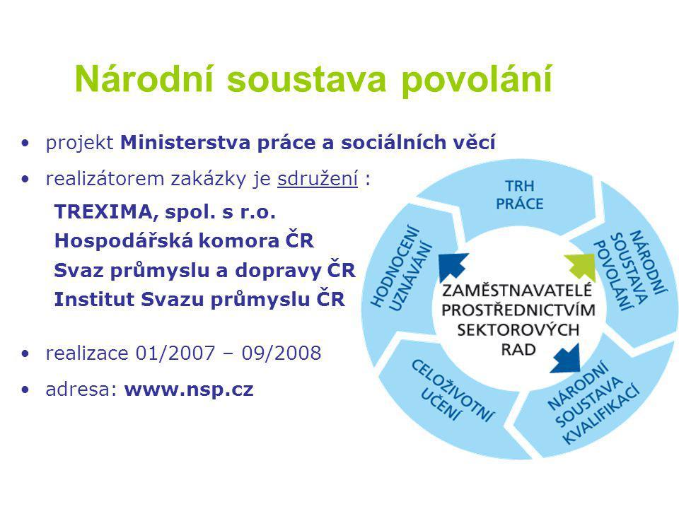 Role SR  revidovat strukturu a obsah povolání a pozic v daném sektoru  spolupracovat na optimálním vyjádření kompetencí jednotlivých povolání a pozic  posuzovat kvalifikační i hodnotící standardy kvalifikací a navrhovat dílčí kvalifikace pro Národní soustavu kvalifikací  spolupracovat s autorizujícími orgány v rámci realizace zákona 179/2006 Sb., o ověřování a uznávání výsledků dalšího vzdělávání Sektorová rada Sektorová rada (SR) orgán a nástroj zaměstnavatelů při prosazování zájmů v oblasti lidských zdrojů ve vztahu ke státní správě a ke vzdělávacím institucím