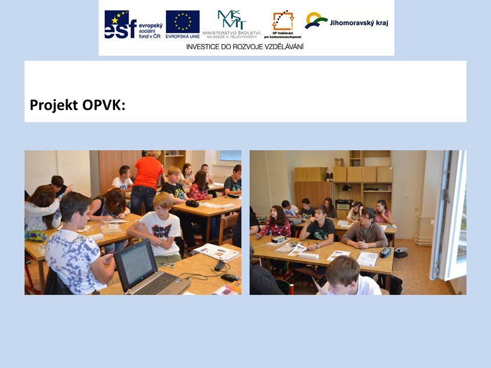 Projekt OPVK: