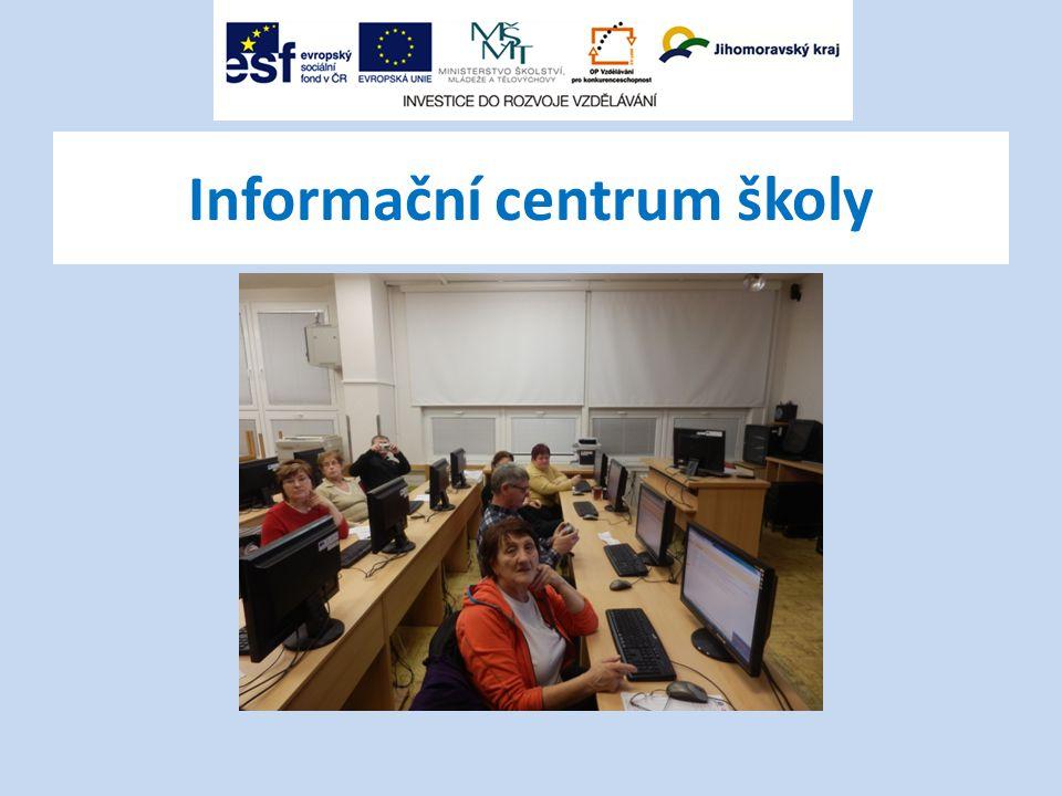 Informační centrum školy