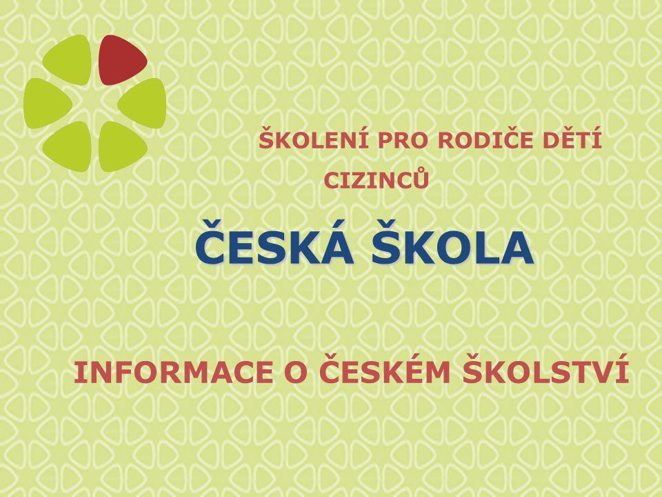 Struktura českého školství