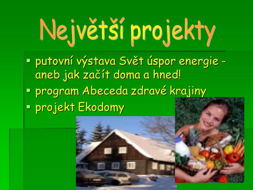  putovní výstava Svět úspor energie - aneb jak začít doma a hned.