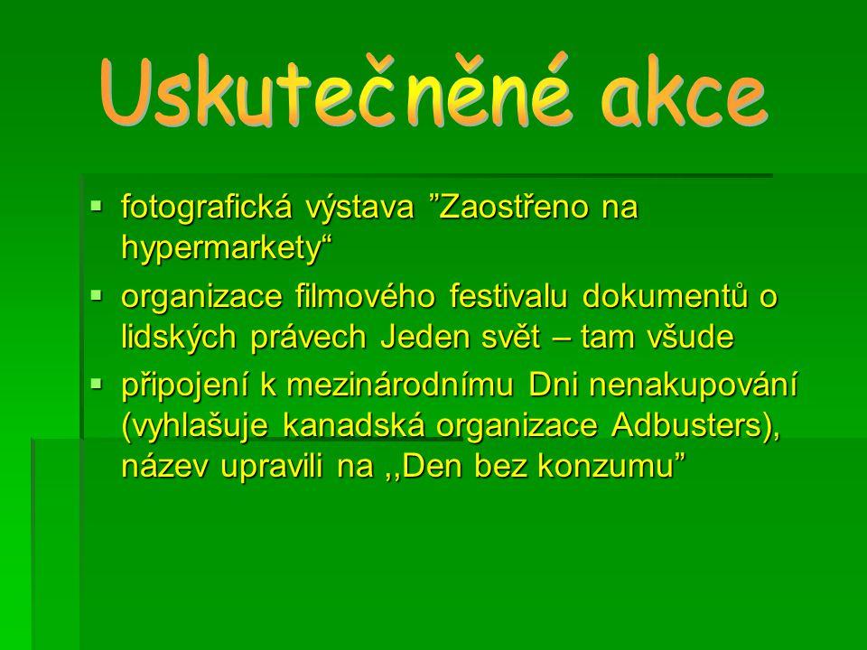  účast na projektech (např.