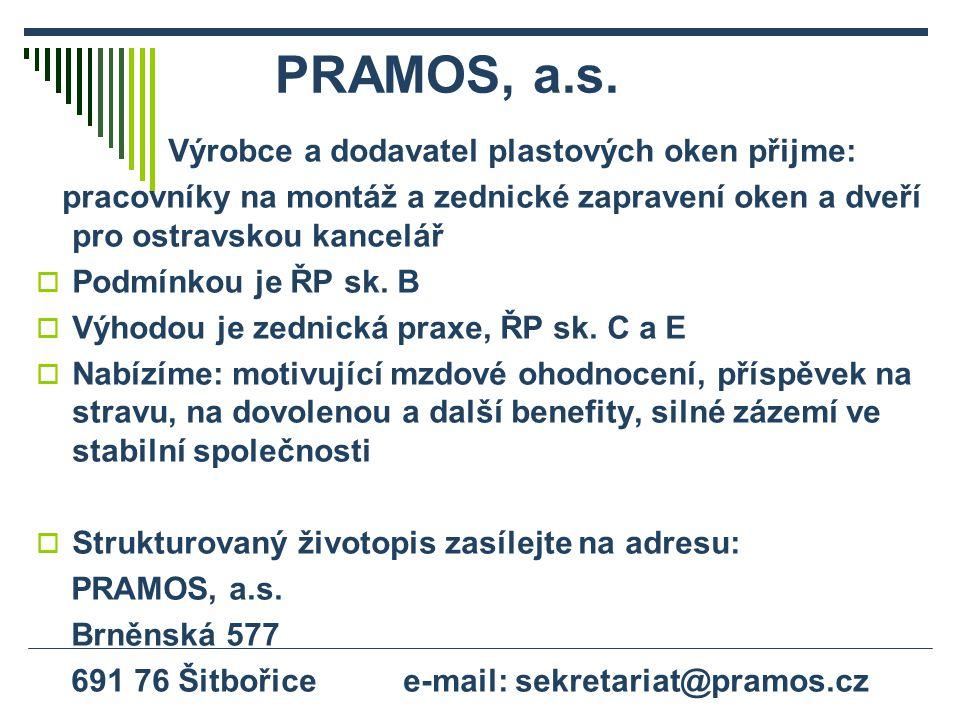 PRAMOS, a.s.