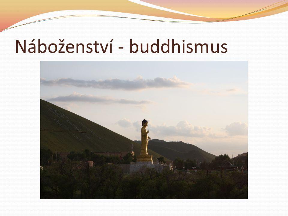Náboženství - buddhismus