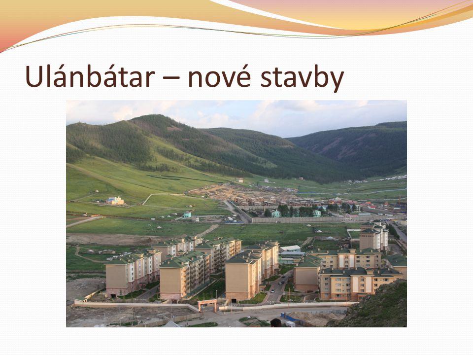 Ulánbátar – nové stavby