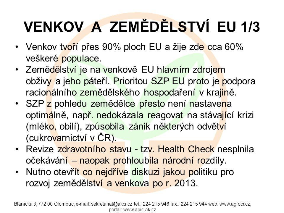Blanická 3, 772 00 Olomouc, e-mail: sekretariat@akcr.cz tel.: 224 215 946 fax.: 224 215 944 web: www.agrocr.cz, portál: www.apic-ak.cz ÚLOHA STÁTU V KRIZI Kritická situace si vyžaduje nestandardní řešení.