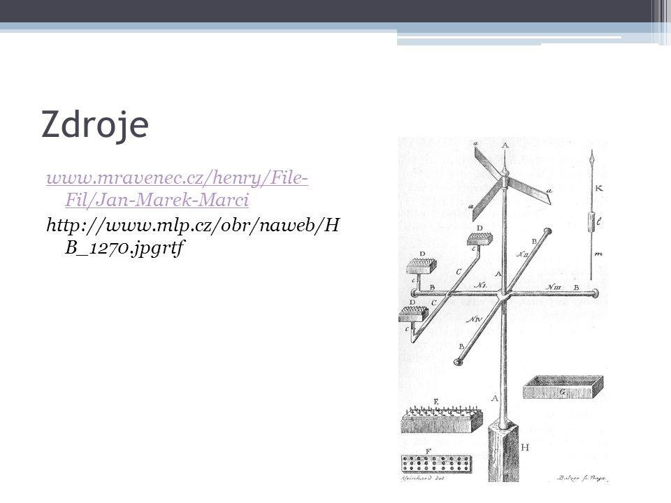 Zdroje www.mravenec.cz/henry/File- Fil/Jan-Marek-Marci http://www.mlp.cz/obr/naweb/H B_1270.jpgrtf