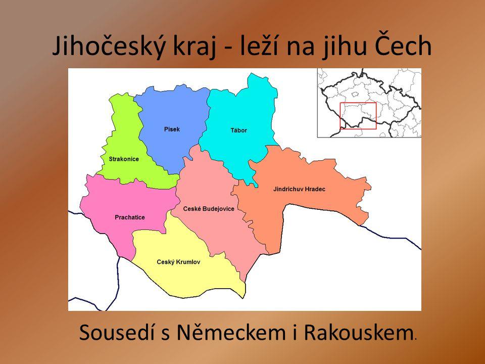 Vodstvo Kraj je odvodňován především řekou Vltavou.