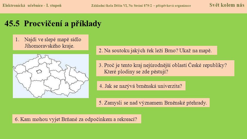 45.5 Procvičení a příklady Elektronická učebnice - I.
