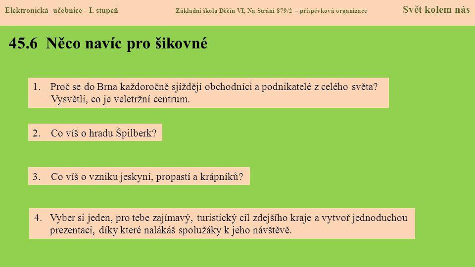 45.7 Region Elektronická učebnice - I.