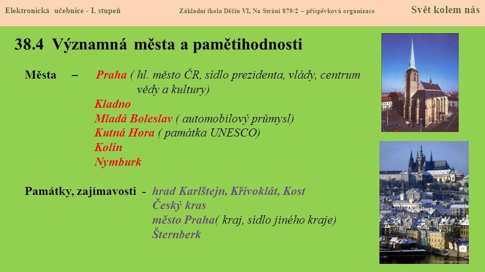 38.5 Procvičení a příklady Elektronická učebnice - I.