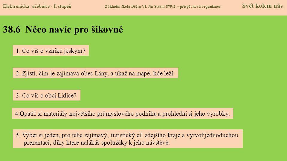 38.7 Region Elektronická učebnice - I.