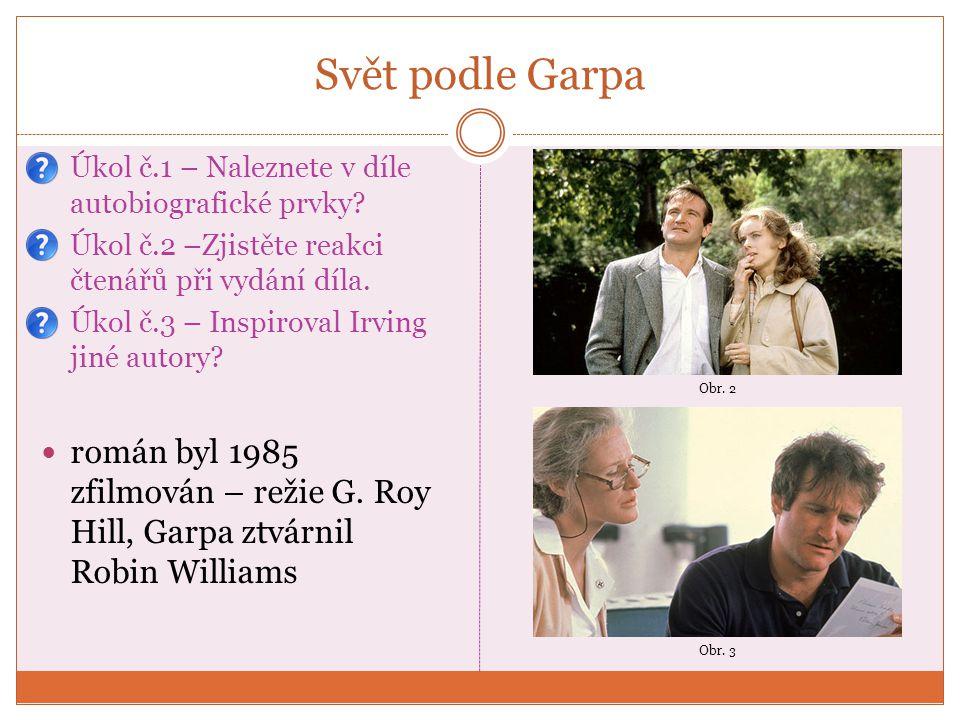 Pravidla moštárny (1985) zfilmováno 1999 – Lass Hallstrom scénář – John Irving (malá role přednosty stanice) film získal dva Oscary a dalších pět nominací děj se odehrává v 1.