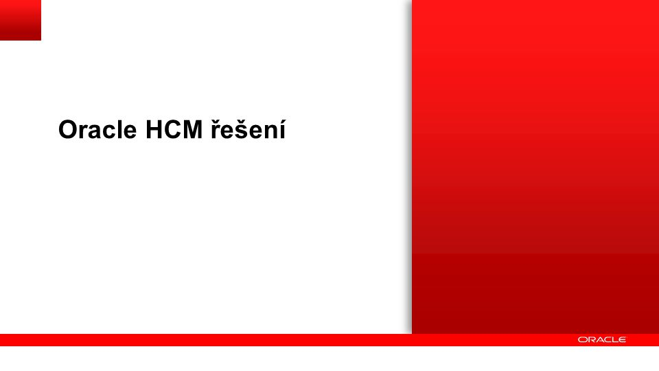 30 z Top 40 inovativních společností používá Oracle HCM