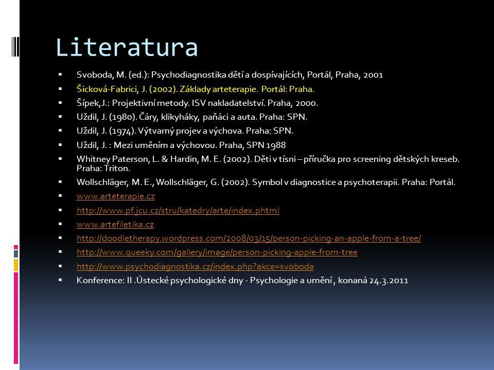 Literatura  Svoboda, M.