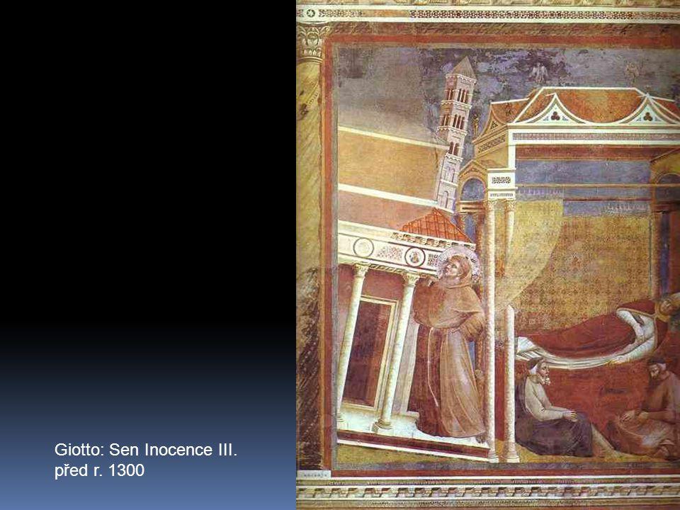 Giotto: Sen Inocence III. před r. 1300
