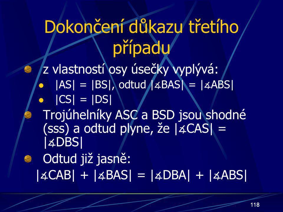 117   ∡ CAS  =   ∡ DBS 