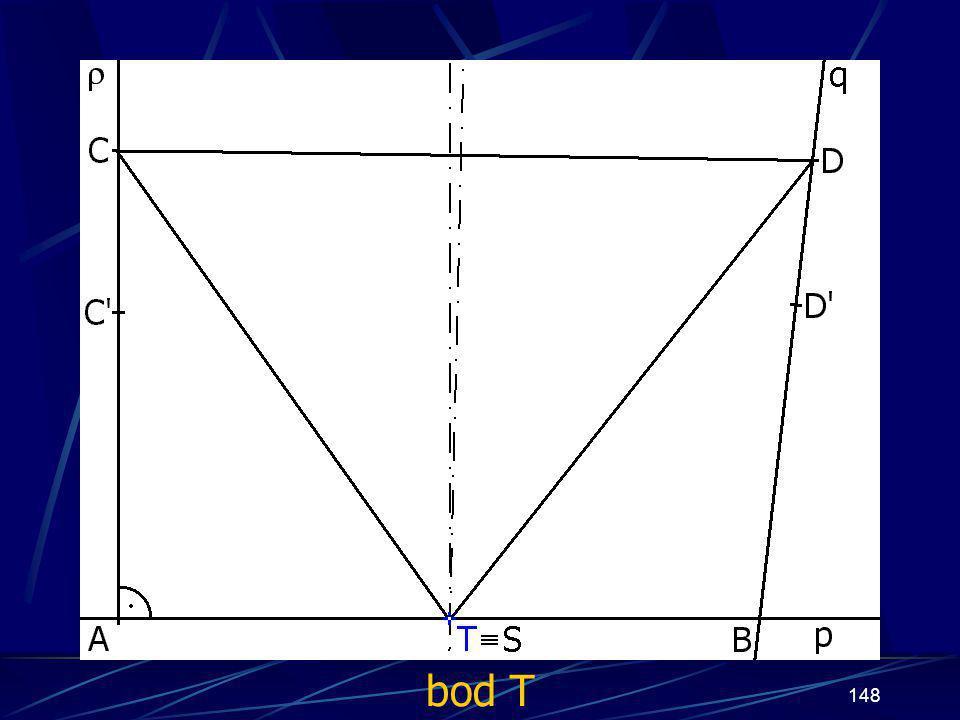 147 Konstrukce druhého případu Buď dána rovina ρ, dále: 14.