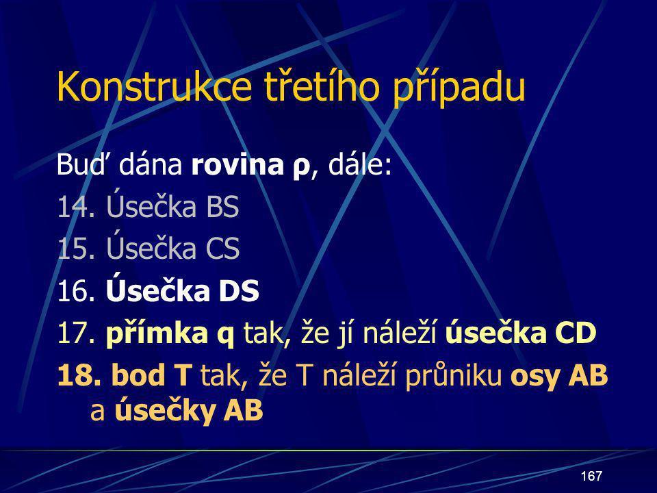 166 přímka q